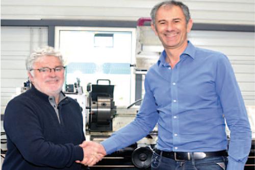 ATHP partenaire SAV de la Société THIBAUT , constructeur français de machines-outils pour tous types de matériaux naturels et agglomérés
